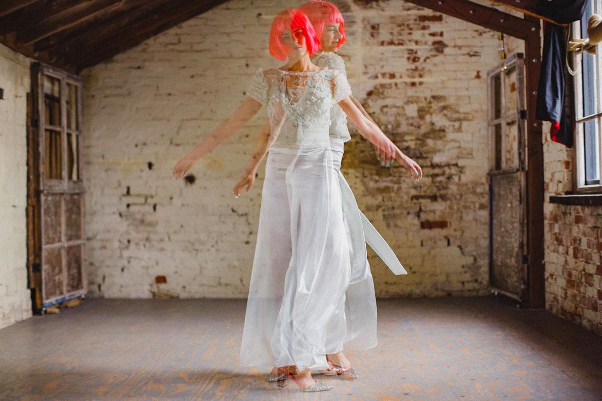 rainbow-wedding-dresses-rock-n-roll-bride-13 | Lisa Devlin Photography